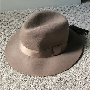 D&Y Wool Panama Hat Camel Color One Size